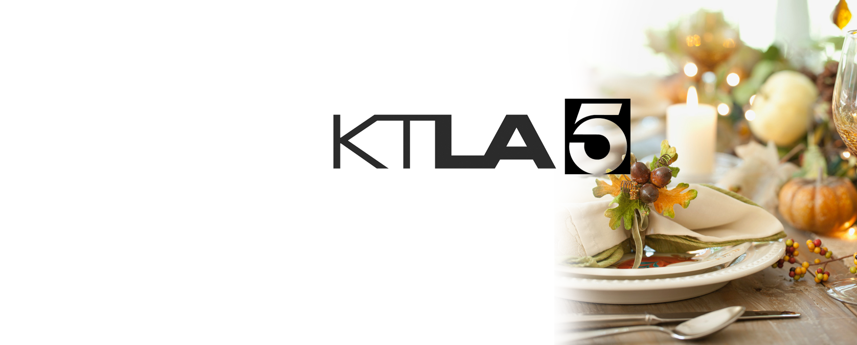 KTLA THANKSGIVING WITH CHEF JAMIE GWEN