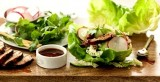 ASIAN GRILLED PORK TENDERLOIN LETTUCE WRAPS