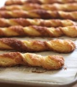 ALMOND PUFF PASTRY TWIST COOKIES