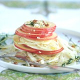 FENNEL, APPLE & BLUE CHEESE SALAD