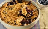 Blueberry Streusel Cobbler