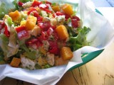 CHOPPED VEGETABLE SALAD and VINAIGRETTE DRESSING