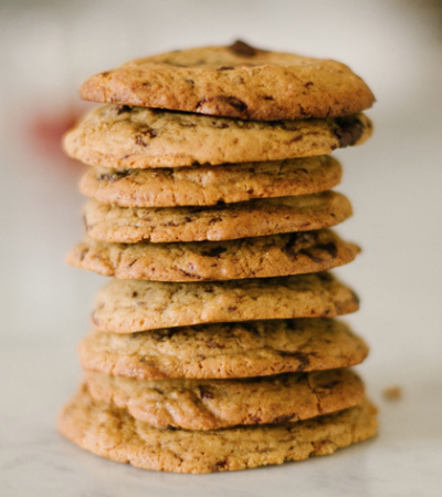 CLASSIC EINKORN  CHOCOLATE CHIP COOKIES