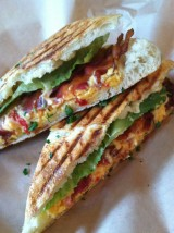 PANCETTA & HATCH CHILE PANINIS