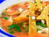 Ancho Chili Tortilla Soup